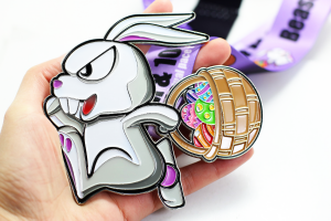 Bunny medal sample-03