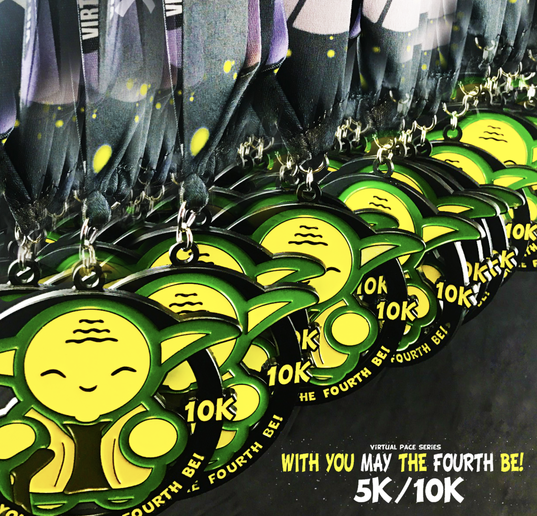 May The 4th Be With You Best: MAY THE 4TH 5K/10K – Virtual Pace Series