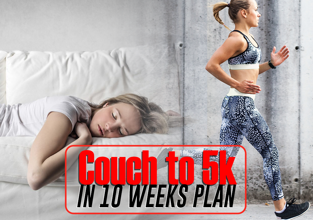 Couch To 5k In 10 Weeks Plan With Virtual Pace Series